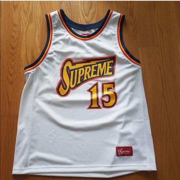 7f6e2044facc Supreme Shirts   Bolt Basketball Jersey   Poshmark